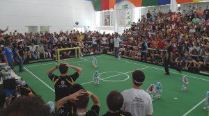 SPL Finale: HWTH Leipzig vs. rUNSWift (Australien)